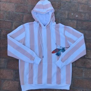 New Pink Oversized Hoodie